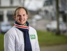 Merijn van As (22) is het jongste raadslid van Brummen en hoopt op meer jeugdige collega's: 'Wij hebben de toekomst'