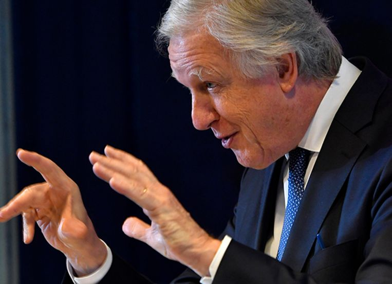 Pensioenminister Daniël Bacquelaine (MR). Beeld Photonews