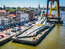 Iconische Prins Clausbrug wordt vandaag op zijn plek gehesen