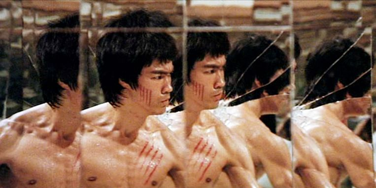 Bruce Lee in Enter the Dragon Beeld
