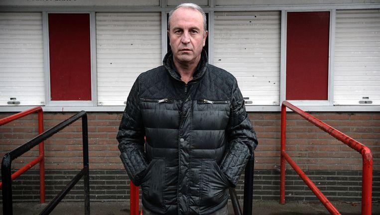 Bestuurder Danny Vander Eeckt in het Edmond Machtens-stadion: