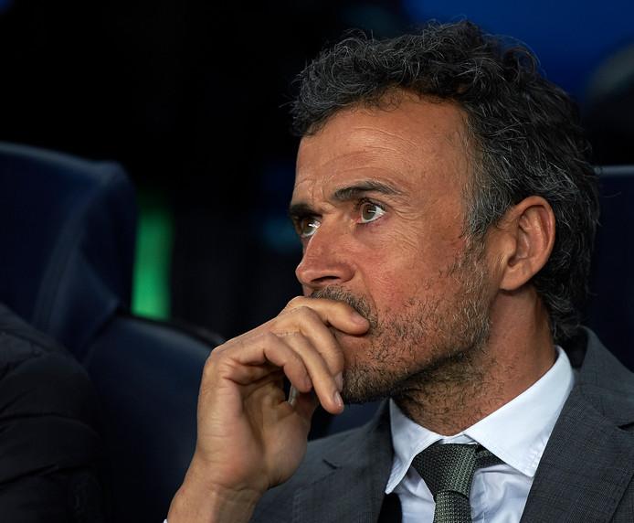 Barça-trainer Luis Enrique.