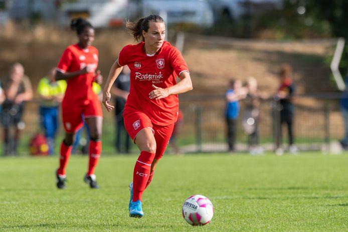 Renate Jansen gaat het zesde seizoen in bij FC Twente.