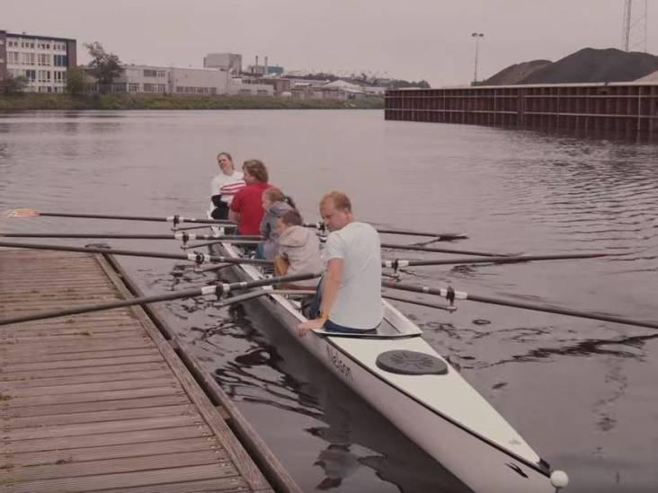 Waterfietsdag in Enschede: slotakkoord langs het water