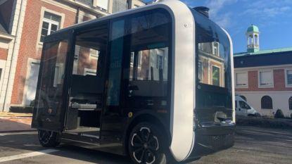 'Olli' wordt het eerste zelfrijdende busje van Gent (maar in het begin gaat toch een begeleider mee)
