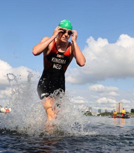 Van Egdom imponeert met Nederlandse triatleten, maar belandt net naast het podium