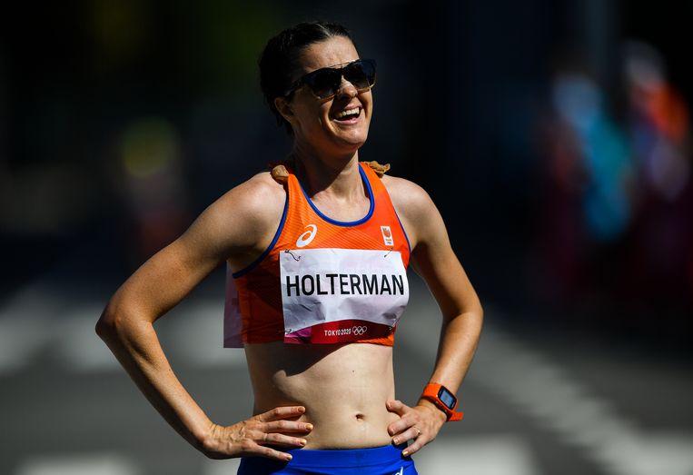 Jill Holterman bij de Spelen van Tokio. 'Als je je nog moet kwalificeren, wil je het liefst al in februari al een marathon lopen. Dat moet je nu weten, want organisatoren zijn ook al bezig met het deelnemersveld.' Beeld Getty Images