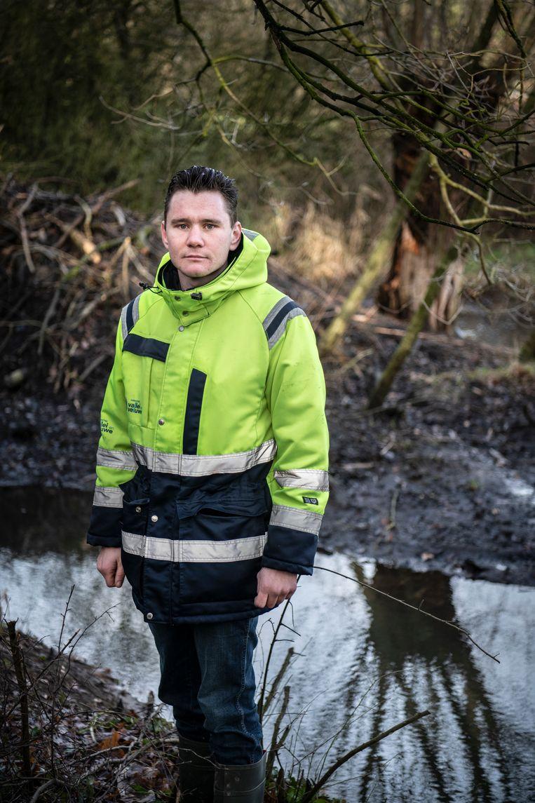 Gydo Hendriks van waterschap Vallei en Veluwe.   Beeld Koen Verheijden