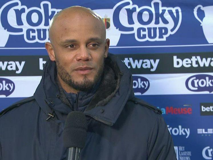 """Kompany na zege tegen Cercle: """"Had het gevoel dat mijn ploeg fysiek minder fris was"""""""