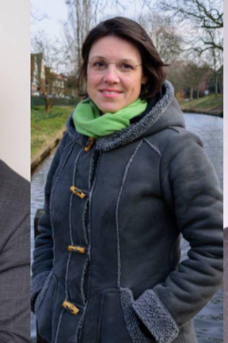 Dit zijn de lijsttrekkers voor de verkiezingen van de VVD, GroenLinks en ChristenUnie in Amersfoort