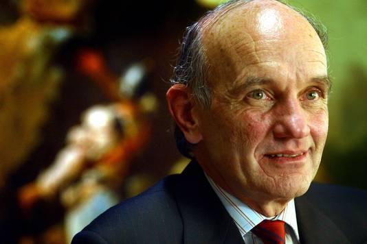 Frank Houben, oud-Commissaris van de Koning en ereburger van de stad Den Bosch.