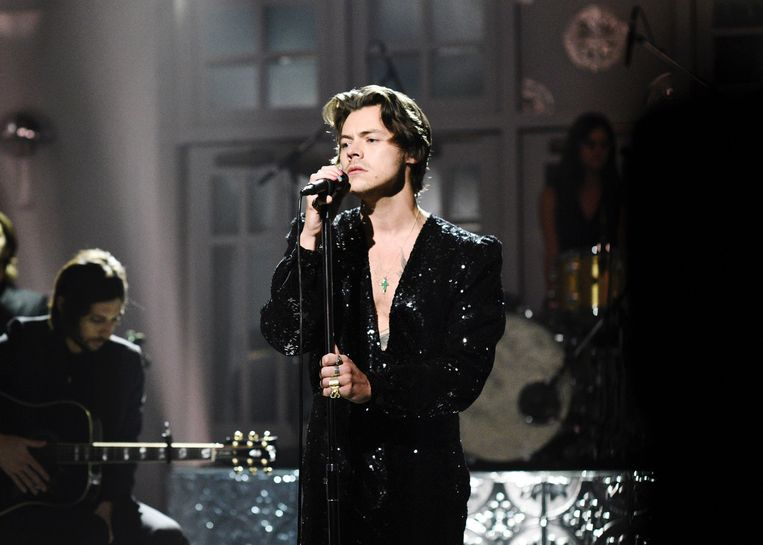 Harry Styles. Beeld NBCU Photo Bank via Getty Images