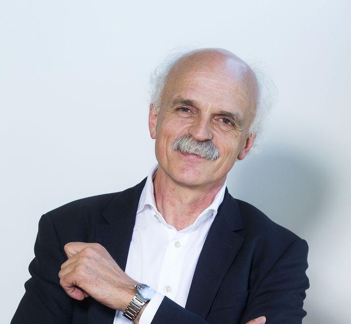 Hoofdredacteur Arie Leen Kroon van de PZC.