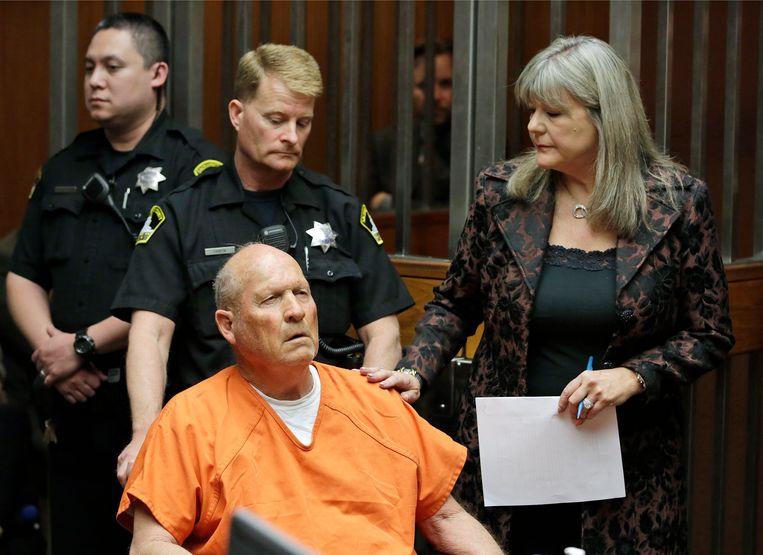 Inmiddels is de Golden State Killer ontmaskerd. Op basis van DNA-onderzoek kon Joseph James DeAngelo aan ten miste acht moorden en talloze verkrachtingen gelinkt worden. Beeld AP