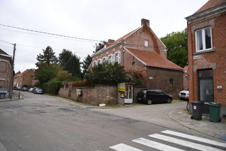 Werken in de Korbeekse Kerstraat in Korbeek-Dijle.
