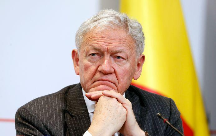 Minister van Mobiliteit François Bellot (MR).