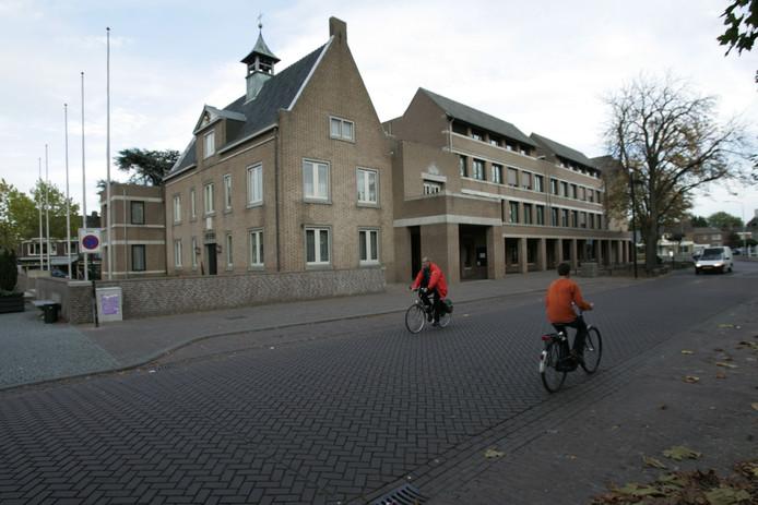 Het gemeentehuis in Someren.