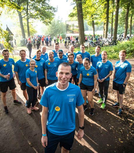 Uitgezaaide longkanker én meedoen aan de marathon? 'Betonnen Wouter' uit Oldenzaal doet het
