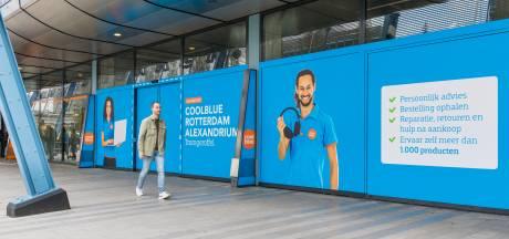 Webreus Coolblue opent winkel in Alexandrium: 'Klanten willen producten voor de aankoop eerst zien'