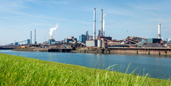 De hoogovens van staalbedrijf Tata Steel.