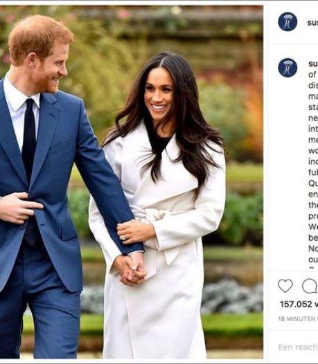 """Les réactions après l'annonce surprise d'Harry et Meghan: """"Après le Brexit, voilà le Megxit"""""""