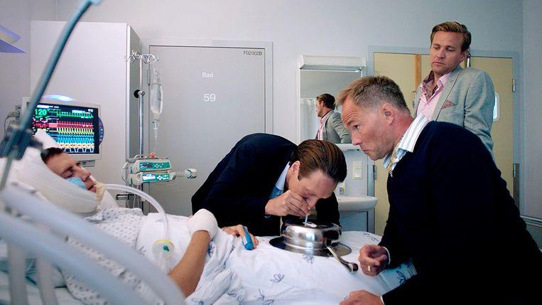 De Noorse serie 'Exit', met drugs in een belangrijke bijrol.  Beeld rv