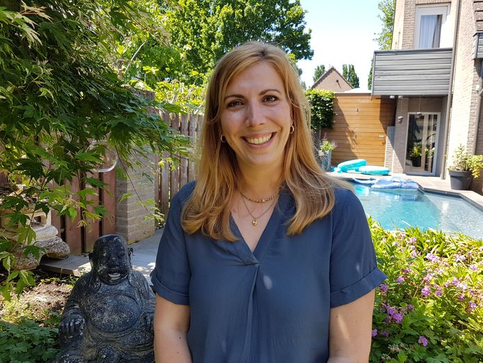 Karin van de Rijdt, lid van het tienkoppige organisatiecomité van Durpskwis Liemt dat direct na aankondiging van versoepeling van de coronamaatregelen weer bijeenkwam.