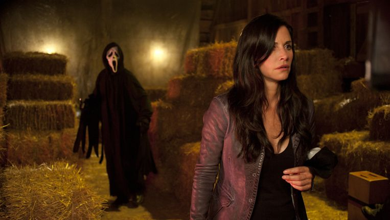 Courtney Cox in 'Scream'. Beeld AP
