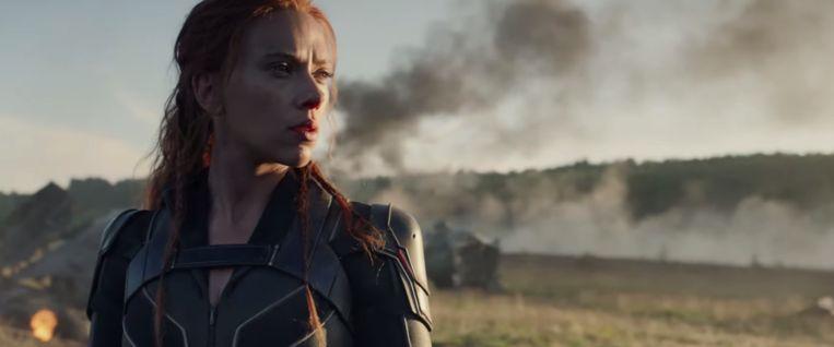 Scarlett Johanson als Black Widow.