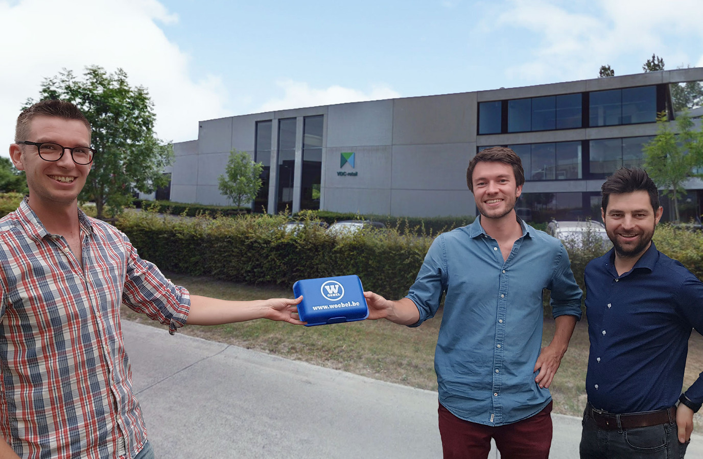 Jonas Van Gool, Lukas Van Orshoven en Niels Vanden Buverie.