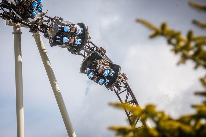 Een eerste blik op de nieuwe attractie The Ride to Happiness by Tomorrowland die rond de zomervakantie opent.