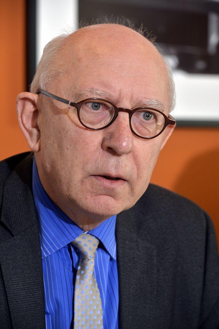 Voorzitter Raf De Rycke. Beeld BELGA