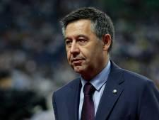 Josep Bartomeu, ex-président du Barça, libéré à titre provisoire