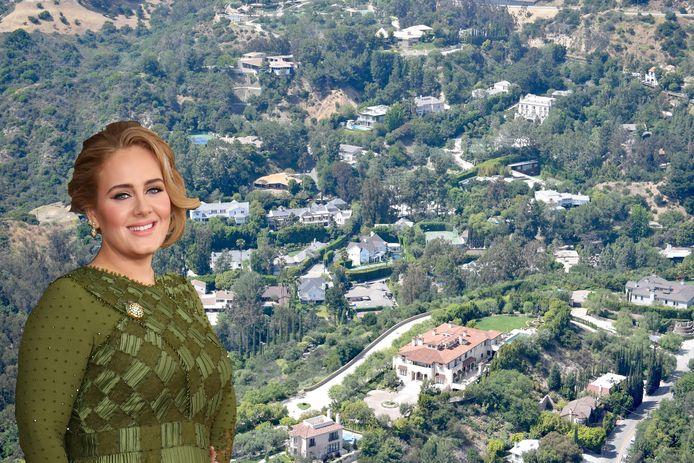 Adele heeft er een nieuwe woning bij in de Hidden Valley