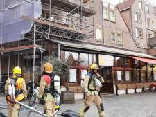 Net vandaag: terras grand-café in Rotterdam ontruimd, vanwege brand in de woning erboven