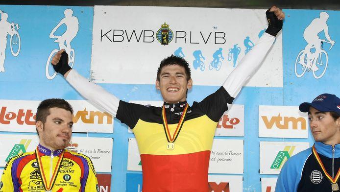 Jonathan Breyne, champion de Belgique espoirs du contre-la-montre en 2010