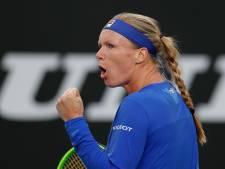 Bertens klopt Rodionova en evenaart beste resultaat in Melbourne