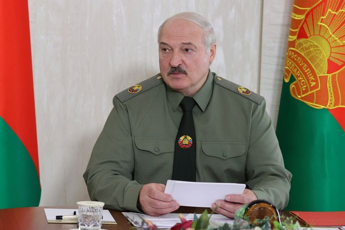 Aleksander Loekasjenko, president van Wit-Rusland.