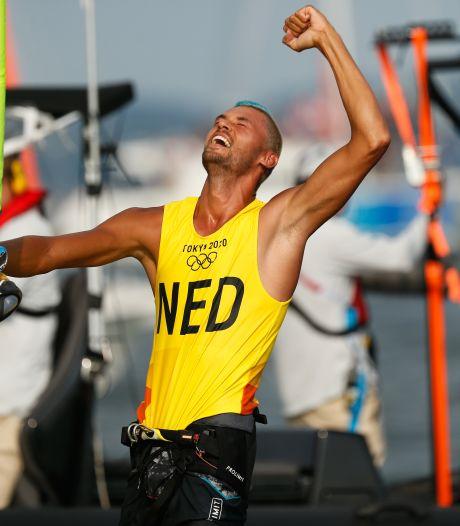 Kiran Badloe blijft in bizarre medalrace uit de problemen en heeft goud binnen