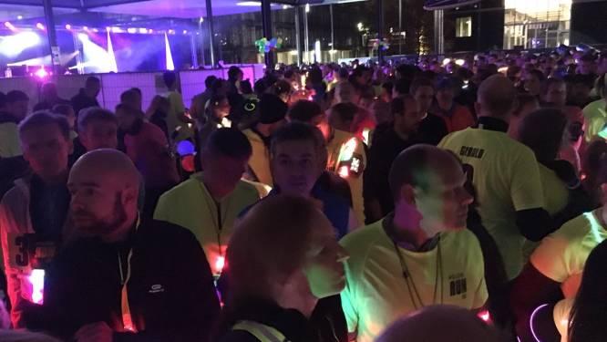 Derde keer Glow Run in Eindhoven met surealistische elementen