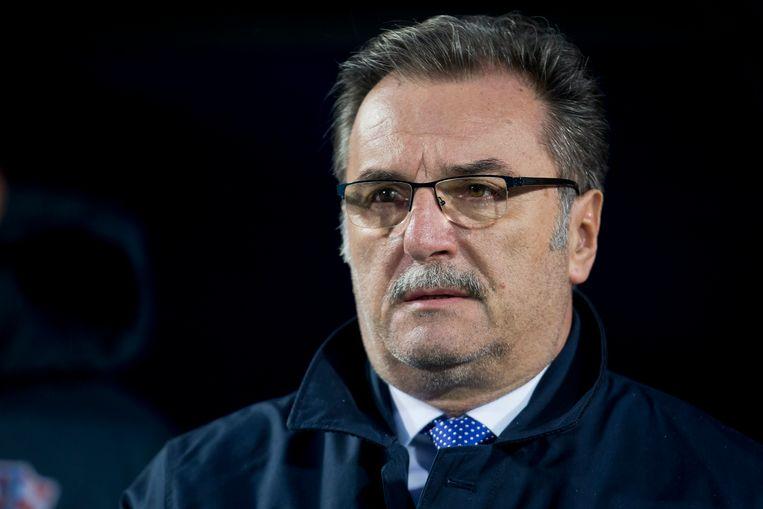 Ante Cacic, ex-bondscoach Kroatië en coach van Vida bij Dinamo Zagreb (2011-2012)