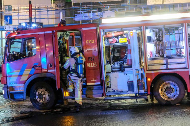 illustratie: interventie van brandweer