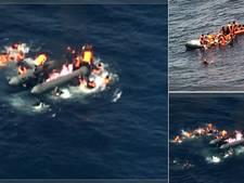 Portugezen redden migranten wier boot explodeerde op Middellandse Zee