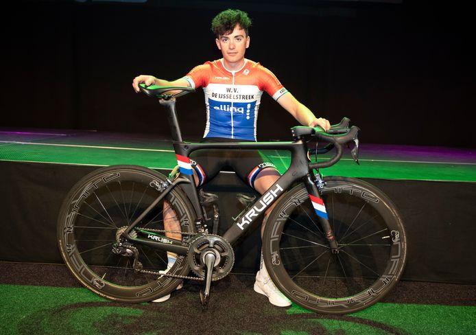 Robin Löwik rijdt volgend jaar op continentaal niveau.