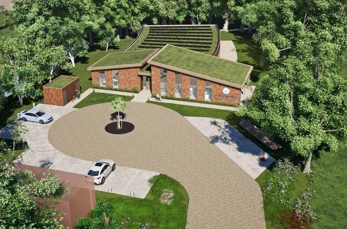 Zo moet het hospice aan de Beersteeg in Zaltbommel er uit gaan zien. Het ontwerp is van Fresjo uit Den Bosch.