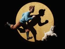"""L'album de Tintin """"On a marché sur la Lune"""", dédicacé par Neil Armstrong, mis aux enchères à Cannes"""
