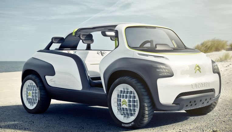 Citroen Lacoste Concept Beeld