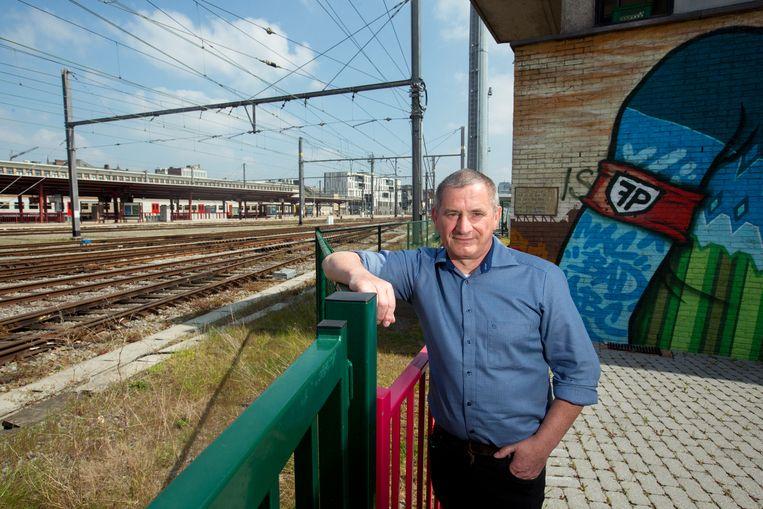 Stefan T'Jolyn van ACOD spoor Limburg.