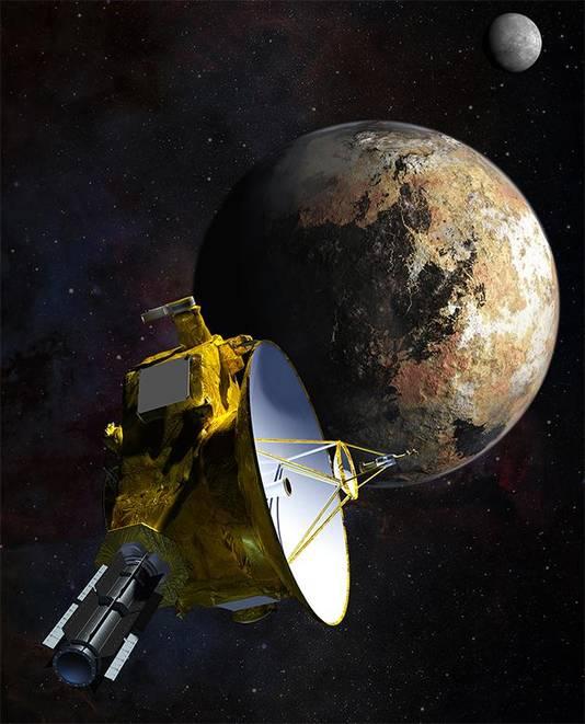 Ruimtesonde New Horizons