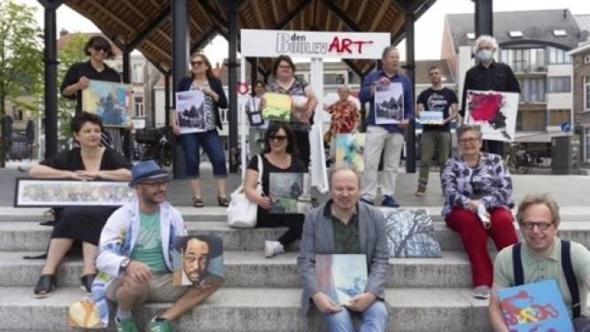 'Den BoulevART' toont kunst van lokale kunstenaars onder de luifel